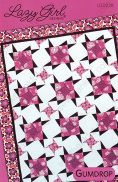Gumdrop quilt pattern from Lazy Girl Designs