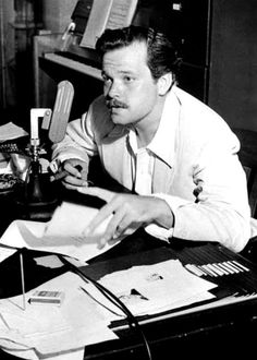 """""""If you want a happy ending, that depends, of course, on where you stop your story."""" Orson Welles"""