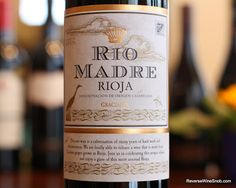 Rio Madre Rioja Graciano 2011 - A Revelation From Rioja. 100% Graciano from Rioja. $10 #winelover