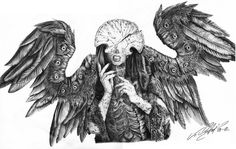 Grotto of the Art Unicorn — ex0skeletal: Hellboy II's Angel of Death by...