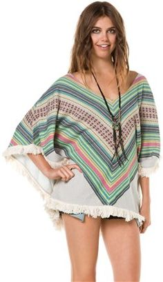 BILLABONG GOOD HEARTED PONCHO | Swell.com