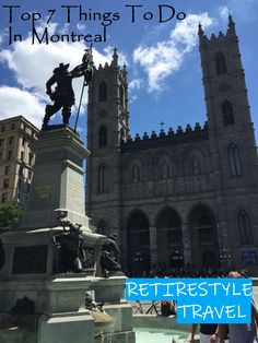 Top 7 Things to do in Montreal, Quebec - Retirestyle Travel YouTube Video, Travel video, Vlog, Travel vlog, snowbirds, retire, retire abroad, retirestyle, retire style, travel, vacation, style, things to do, travel guide, best things to do in Montreal, Top things to do in Montreal, What do do in Montreal, Attractions in Montreal, Montreal, Quebec, Old Montreal, Notre-Dame Basilica, Mount Royal, Old Port of Montreal, Jean-Talon Market, Poutine Travel Vlog, Travel Videos, Travel Guide, Old Montreal, Montreal Quebec, Montreal Attractions, Notre Dame Basilica, Stuff To Do, Things To Do