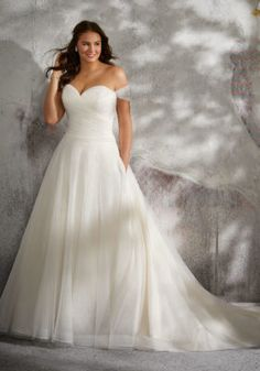 Lyla Wedding Dress   Style 3245   Morilee Plus Size Wedding Gowns, Princess Wedding Dresses, Bridal Wedding Dresses, Cheap Wedding Dress, Wedding Dress Styles, Full Figure Wedding Dress, Drop Waist Wedding Dress, Wedding Dresses For Busty Brides, Flattering Wedding Dress