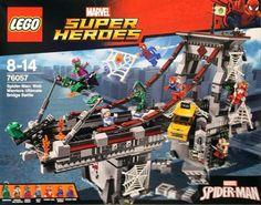 Lego Marvel Super Heroes Spider-man Web Warriors Ultimate Bridge 76057 for sale online Spiderman Lego, Legos, X Men, Spider Man Web Warriors, La Redoute Catalogue, Scarlet Spider, Green Goblin, Lego Marvel Super Heroes, Lego Sets