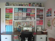 Sew Peachey: My Sewing Room