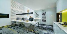 Yuexiu Nansha C-units Creative Office Show Flat by C&C Design Co., Ltd., Guangzhou – China » Retail Design Blog