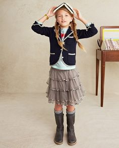 kids style for back to school... Garnet Hill