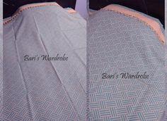 Abstract Pure Handloom Bedspread
