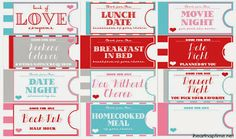 Romantic And Naughty Printable Love Coupons For Him • Glitter N ...