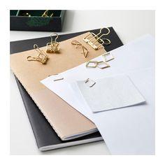 IKEA EKLOG 48-piece stationery set Ideal for storing desk accessories.