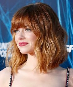 How to copy Emma Stone's fab new bob.