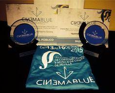 NAMNALA hace doblete en Cinema Blue, el Festival Nacional de Cortometrajes y Música de Cine de Sevilla, consiguiendo el premio del público y el de mejor guion.¡Felicidades a Nacho Solana y a todo su equipo!  #CortosCantabria