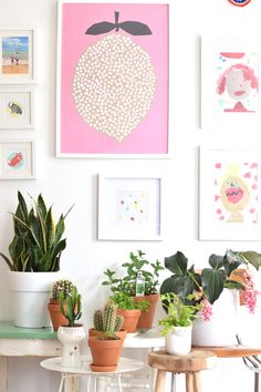 Show your Plant Gang & Art   Urban Jungle Bloggers l Wimke