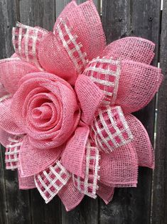 Your place to buy and sell all things handmade Deco Mesh Garland, Deco Mesh Wreaths, Burlap Flower Wreaths, Burlap Wreath, Burlap Crafts, Wreath Crafts, Mothers Day Wreath, Door Wreath, How To Make Wreaths