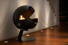 Vauni design fireplace