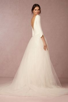 Ivory Grace Gown | BHLDN