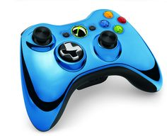 Xbox 360 Special Edition Chrome Series Wireless Controllers by Major Nelson, via Flickr