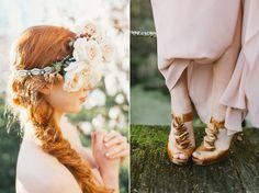 Blush Boho Bridal Inspiration - By Jo Photo