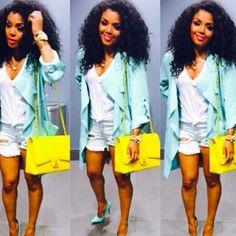 Rasheeda be killing it She MINT fresh Black Girl Fashion, Diva Fashion, Fashion Killa, I Love Fashion, Fashion Trends, Night Outfits, Chic Outfits, Spring Outfits, Fashion Outfits