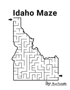 Mazes For Kids Printable, Free Printables, Senior Activities, Preschool Activities, Boston Activities, Activity Sheets For Kids, State Game, Paper Puppets, Schools First