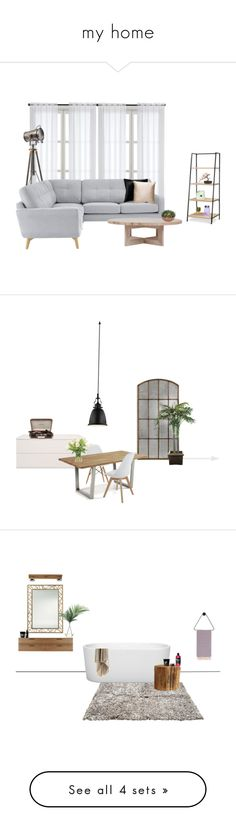 """my home"" by mischa-hemmings on Polyvore featuring interior, interiors, interior design, thuis, home decor, interior decorating, John Lewis, Improvements, Nearly Natural en Blu Dot"