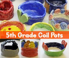 Coil-Pots-for-Kids. Will definitely try this!