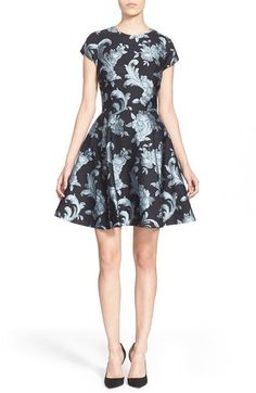 Ted Baker London 'Danetia' Fit & Flare Dress available at #Nordstrom