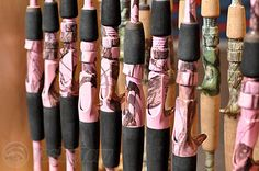 Pink Camo Fishing Poles?! I MUST HAVE!!!!!!!!!!!