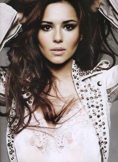 Cheryl Cole - Elle UK - Jan Welters - 2011.  Makeup by Lisa Eldridge http://www.lisaeldridge.com/gallery/editorial/ #Makeup #Beauty #Fashion