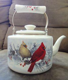 lenox teapot, winter greetings