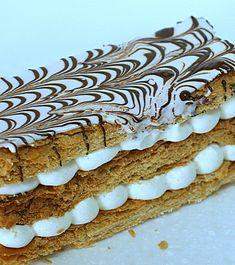 » Millefeuille à la vanille ou comment utiliser les tombées de pâte feuilletée inversée ! - La cuisine de Mercotte :: Macarons, Verrines, … et chocolat