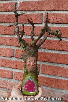 OOAK Miniature Fairy Tree for mini garden, terrarium or dollhouse