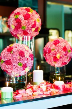 cylinder vase centerpieces - Bing Images