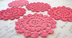Crochet Doilies  - Raspberrytreats