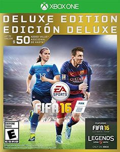 FIFA 16  Deluxe Edition  Xbox One ** For more information, visit image link.(It is Amazon affiliate link) #lifestylestore