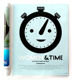 """Such a well done story... yay, RS! @Real Simple's ASME nom for Personal Service: """"Women and Time: Setting a New Agenda,"""" April 2012"""