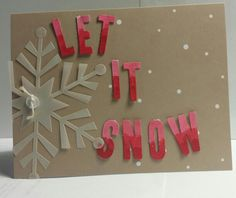 Stampin' Up! demonstrator Janet H's project showing a fun alternate use for the Watercolor Winter Simply Created Card Kit.