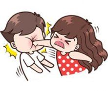 This love for you, send your love to your couple. It's so cute >. Cute Chibi Couple, Love Cartoon Couple, Cute Couple Comics, Cute Couple Art, Cute Love Cartoons, Anime Love Couple, Cute Comics, Cute Anime Couples, Cute Love Pictures