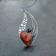 Plamen... #handmadesilverjewelry