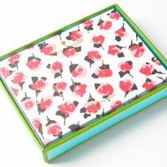Rose Note Cards by Kate Spade. Set yourself above the rest: always keep a few blank notecards (and pens!) on hand to express your gratitude after an opportune encounter.