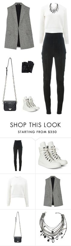"""Sans titre #6610"" by youngx ❤ liked on Polyvore featuring Balmain, T By Alexander Wang, Theory, Alexander Wang, Jean-Paul Gaultier and Karl Lagerfeld"