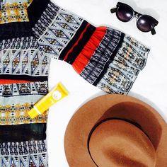 Los básicos del día [#hat + #sunnies + #photoderm] 😎😎 Excelente día 🌞