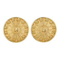 Babylonian Sun Shield Earrings - Met Museum Store