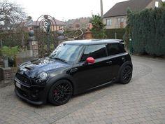 all black Mini Cooper!!!