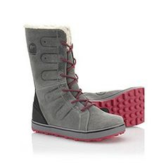 Sorel Women's Glacy Lace Boot (waterproof oiled suede outer, cozy full fleece lining)