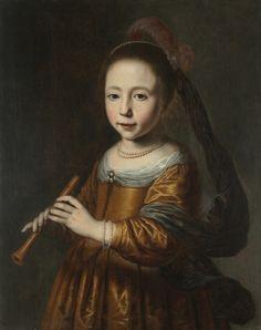 Dirck Dircksz Santvoort, Portrait of Elizabeth Spiegel, 1639 - Cleveland Museum of Art