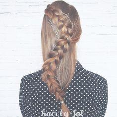 #365daysofbraids #day69 #braids #hairstyle #duchbraid #blonde #longhair #hairstylist #hairblog #warkocz #fryzura #hotd