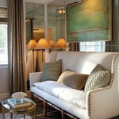 Love this couch for a formal living room