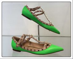 Valentino  #shoes #fluo #stud #SpringSummer #FolliFollie #collection