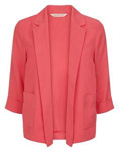 Tallulah Jacket   Pink   Monsoon